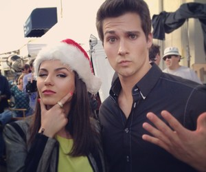 james maslow, victoria justice, and big time rush image