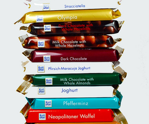 chocolate and ritter sport image