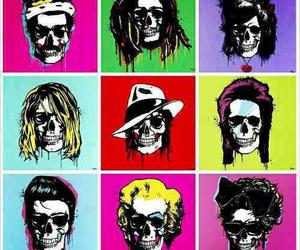 cool, skull, and fashion image
