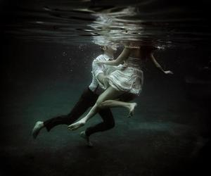 love, water, and underwater image