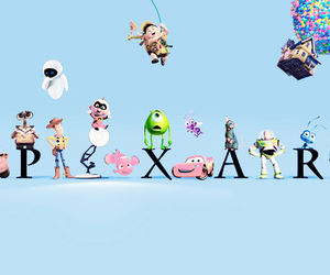 cars, monsters inc, and pixar image