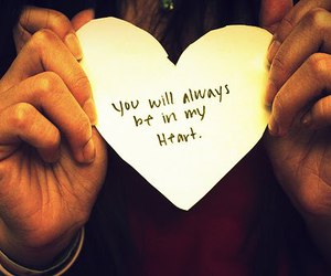 heart, love, and text image