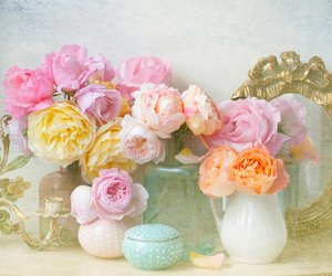 flowers, vintage, and pretty image