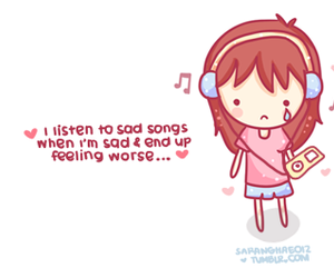 music, cry, and adorable image