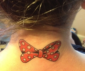 bow, disney, and girl image