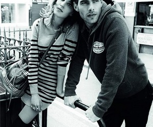 alexa chung, Pepe Jeans, and model image