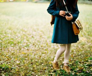 girl, camera, and fashion image