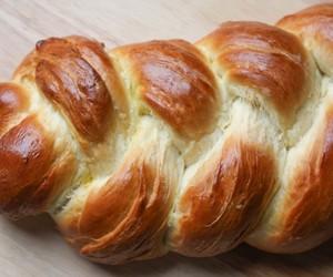 bread, challah, and semolina image