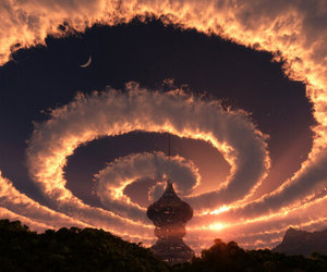 castle, wallpaper, and cloud image
