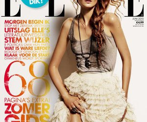 Elle, fashion, and magazine image