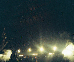 night, concert, and lights image