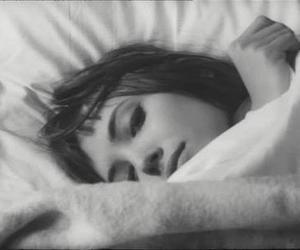 anna karina, vintage, and black and white image