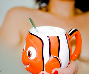 cup, mug, and nemo image