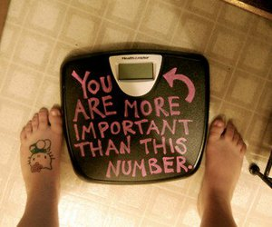 weight, important, and hello kitty image