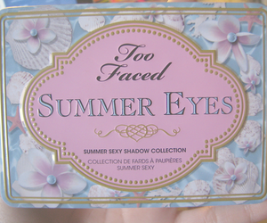 eyeshadow, gold, and pastel colors image