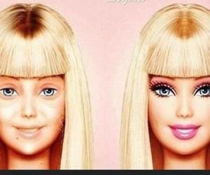 awake, barbie, and fake image