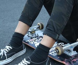 vans, skate, and grunge image