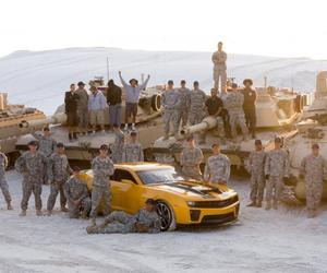 army, autobots, and camero image