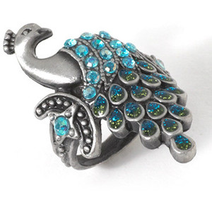 ring and peacock image
