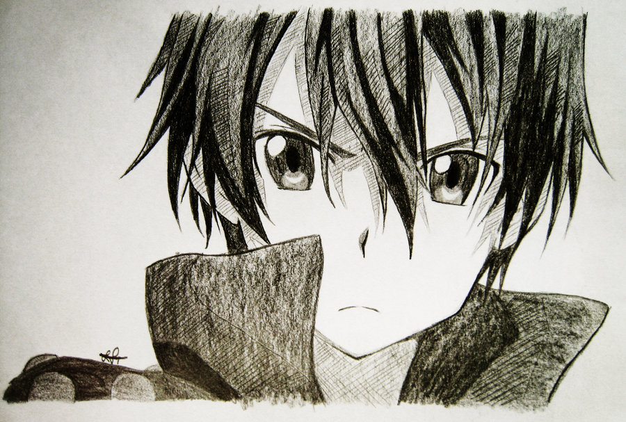 Kirito Discovered By At Alwaysanime On We Heart It