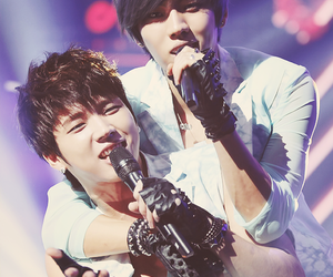 infinite, dongwoo, and woohyun image