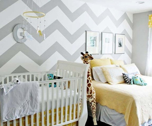 baby, decor, and nursery image