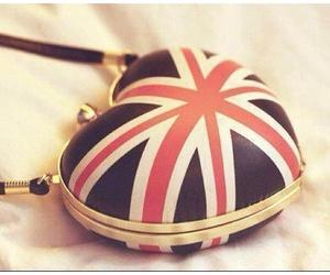 bag, england, and heart image
