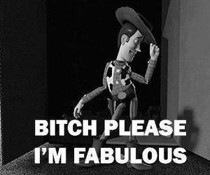 fabulous, toy story, and bitch image