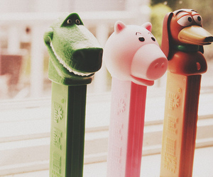 toy story, pez, and candy image