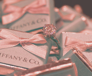 ring, tiffany, and pink image