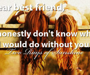 best friends, quote, and blonde image
