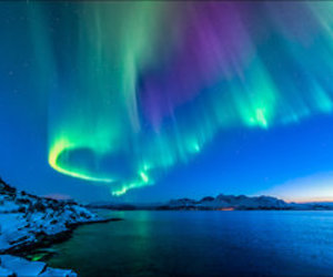 northern lights, photo, and photography image