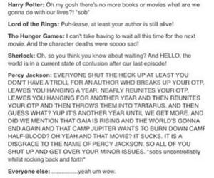 fandom, harry potter, and lord of the rings image