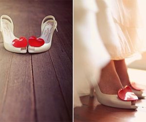 shoes, Melissa, and hearts image