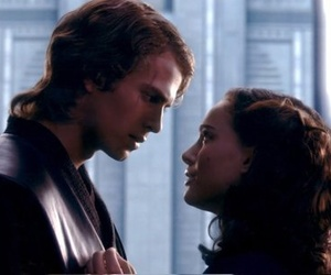 star wars, padme, and anakin image
