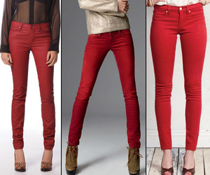colored jeans and colored denim image