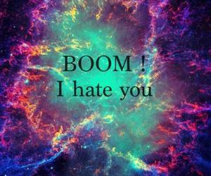 boom, hate, and galaxy image