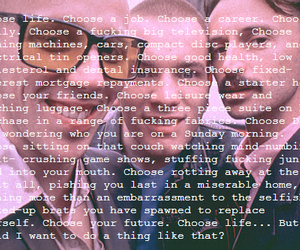trainspotting and choose life image