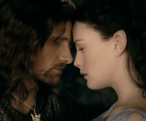 aragorn, arwen, and couple image
