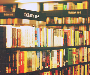 books, bookstore, and colors image