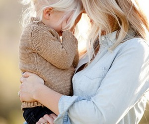 love, mother, and blonde image