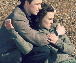 atonement, movie, and couple image