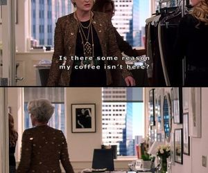 the devil wears prada, coffee, and movie image