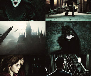harry potter, potter, and voldemort image