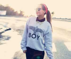 girl, beautiful, and boy image