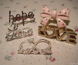 hope, ribbon, and ring image