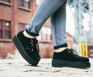 style, creepers, and fashion image