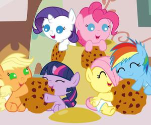 cookie, my little pony, and MLP image