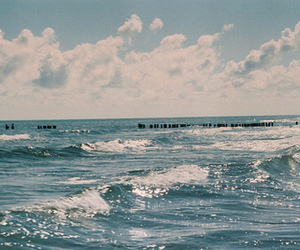 photography, sea, and waves image