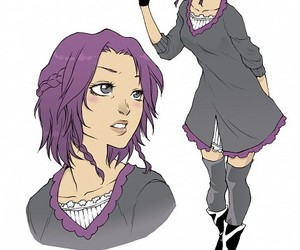 anime, female, and mcl image